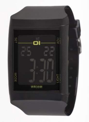 01theone Herren 45mm Mineral Glas Uhr DG921BK