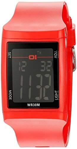 01theone Herren 45mm Mineral Glas Uhr DG921RD