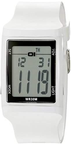 01theone Herren 45mm Mineral Glas Uhr DG921WH