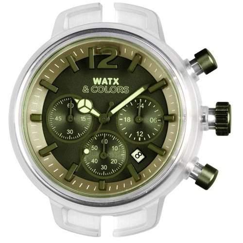 RELOJ WATX & COLORS CRONO ESFVERDE Herr uhren RWA1453