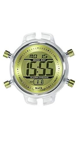 Uhr Watx Digital Rwa1533 Damen Gelb