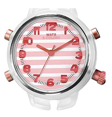 Uhr Watx Gloss & Stripes Rwa1559 Damen Orange