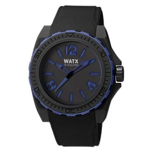 Herr Uhr RELOJ WATX&COLORS BLACKOUT DEEP BLUE RWA1801