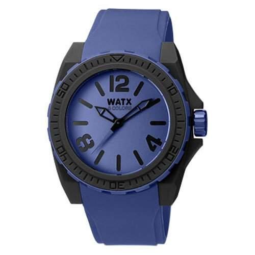 Herr Uhr RELOJ WATX&COLORS BLACKOUT DEEP BLUE RWA1804