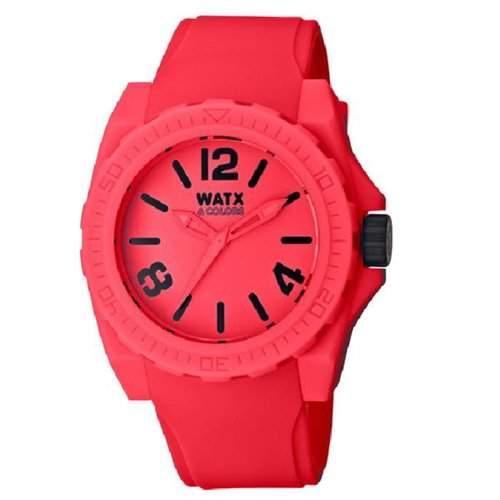 Uhr Watx Blackout Neón Rwa1822 Unisex Rot