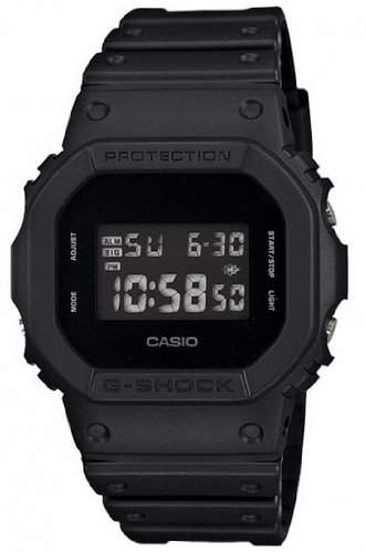 Casio Herrenchronograph G-Shock DW-5600BB-1ER