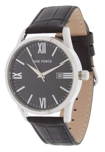 Time Force Herren Armbanduhr Zepir Schwarz TF4079M01