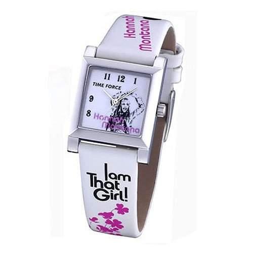Uhr Time Force Hanna Montana Hm1003 Kinder Und Jugendliche Weiss
