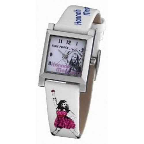 Uhr Time Force Hanna Montana Hm1005 Kinder Und Jugendliche Weiss