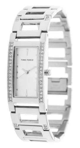 Time Force Damen Armbanduhr Bonny Silber TF4081L02M