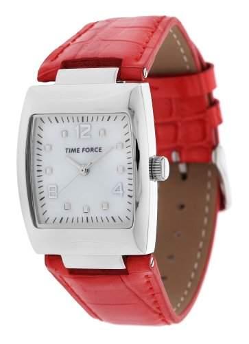 Time Force Damen Armbanduhr Istena Rot TF4083L04