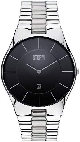Storm Herren-Armbanduhr Analog Metall Silber 47159BK