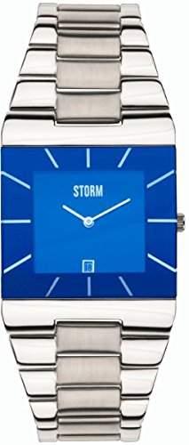 Storm Herrenarmbanduhr Edelstahl 47195B Omari XL Lazer Blue