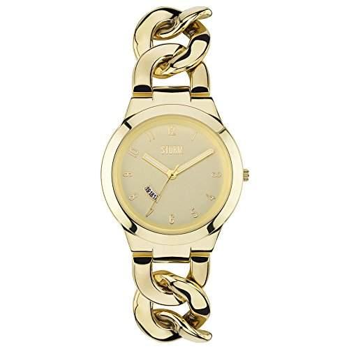 STORM Damen-Armbanduhr Analog edelstahl Gold 47215GD