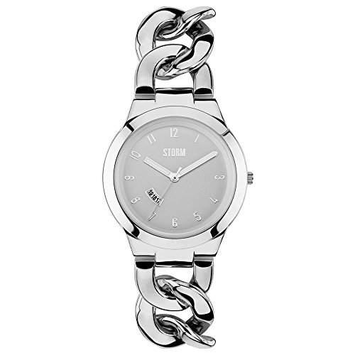 STORM Damen-Armbanduhr Analog edelstahl Silber 47215S