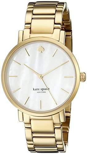 Kate Spade New York Damen 1YRU0002 Gold Bracelet Gramercy Uhr