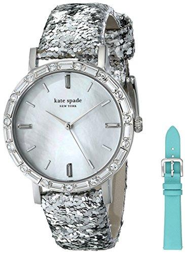 Kate Spade New York Damen 1yru0679 Metro Analog Display Japanische Quarz blau Armbanduhr