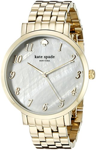 Kate Spade New York Damen 1yru0847 Monterey Analog Display Japanisches Quartz Gold Watch