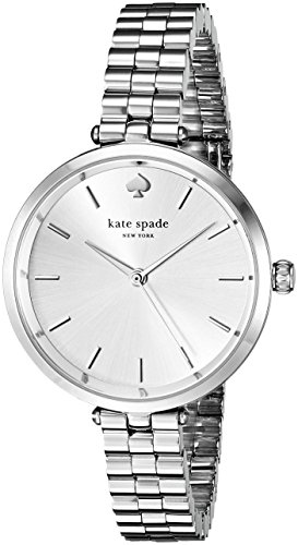 Kate Spade New York Damen 1yru0859 Holland Analog Display Japanisches Quartz Silber Uhr
