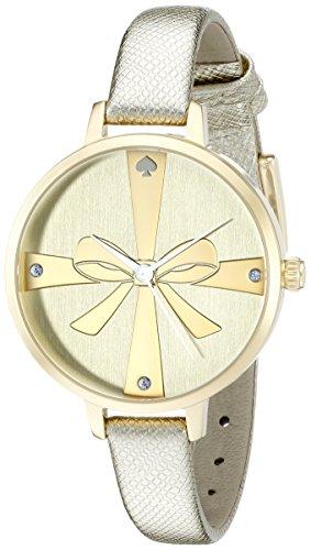 Kate Spade New York Damen 1yru0878 Metro Analog Display Japanisches Quartz Gold Watch
