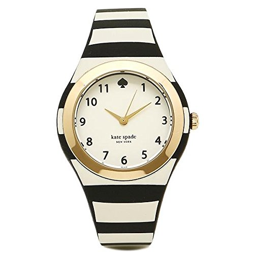 Kate Spade 30mm Armband Plastik Multicolor Gehaeuse Batterie Zifferblatt Weiss 1YRU0749