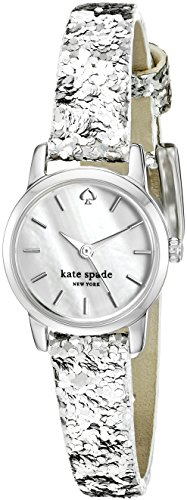 Kate Spade New York Damen ksw1008 Tiny Metro Analog Display Armbanduhr Analog silber Quarz