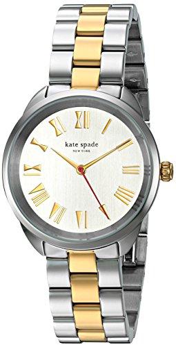 Kate Spade 34mm Armband Edelstahl Gehaeuse Quarz KSW1062