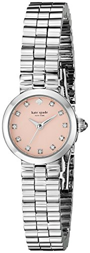 Kate Spade 1yru0920 Gramercy Rosa Zifferblatt Edelstahl Stahl Damen Watch