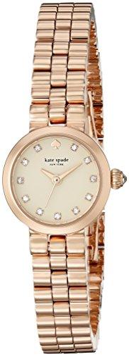 Kate Spade 1yru0921 gamercy Mini Rose Zifferblatt Rose goldfarbene Damen Armbanduhr