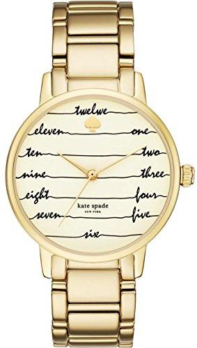 Kate Spade New York Gramercy goldfarbene Damen Armbanduhr ksw1060