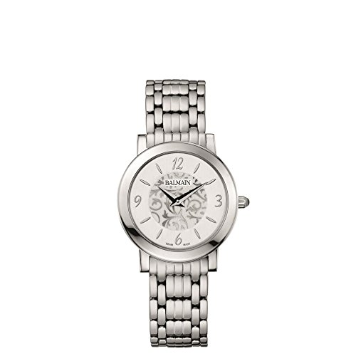 Balmain Elegance Damen Armbanduhr Armband Metall Silber Gehaeuse Edelstahl Saphirglas Batterie B16913314