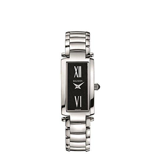 Balmain Elegance Armband Metall Silber Gehaeuse Edelstahl Saphirglas Batterie B18113362