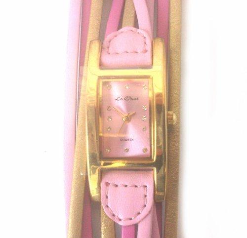 LE CHAT Damen Armbanduhr Leder 191855
