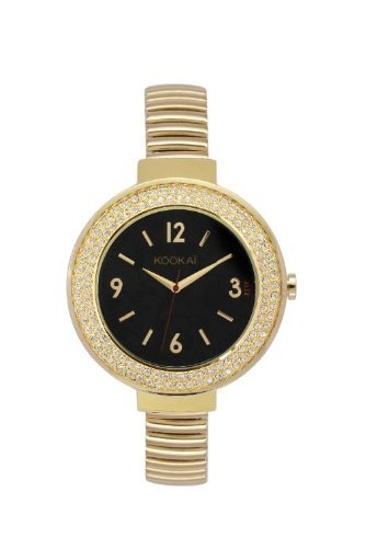 Kookai Damen Armbanduhr Analog Quarz Metall KO 002 1AM