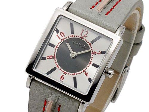 Kookai Damen Armbanduhr Analog Quarz Leder 16160004