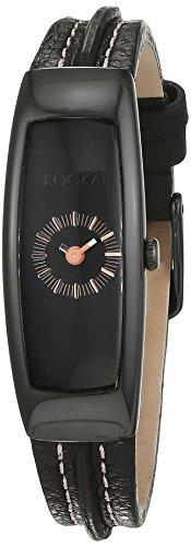 Kookai Damen Armbanduhr Analog Quarz Leder SPE1612 0004
