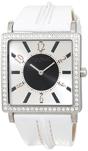 Kookai Damen Armbanduhr Analog Quarz Leder SPE1615 0002