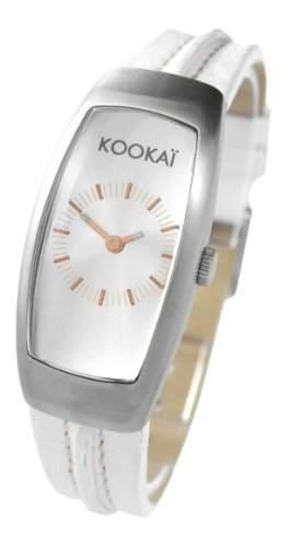 Kookai Damen-Armbanduhr Analog Quarz Leder SPE1610-0001