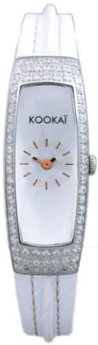 Kookai Damen-Armbanduhr Analog Quarz Leder SPE1613-0001