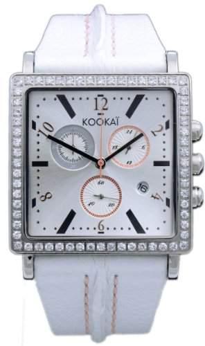 Kookai Damen-Armbanduhr Analog Quarz Leder SPE1615-0004