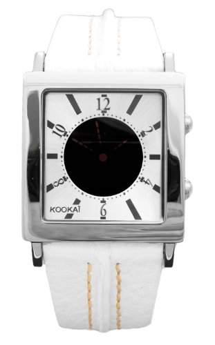 Kookai Damen-Armbanduhr Analog Quarz Leder SPE1618-0003