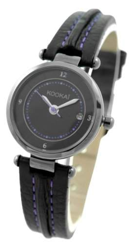 Kookai Damen-Armbanduhr Analog Quarz Leder SPE1621-0002
