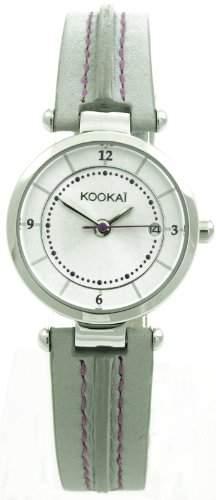 Kookai Damen-Armbanduhr Analog Quarz Leder SPE1621-0008
