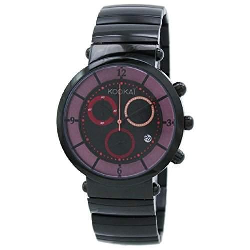 Kookai Damen-Armbanduhr Analog Quarz Edelstahl SPE1623-0002