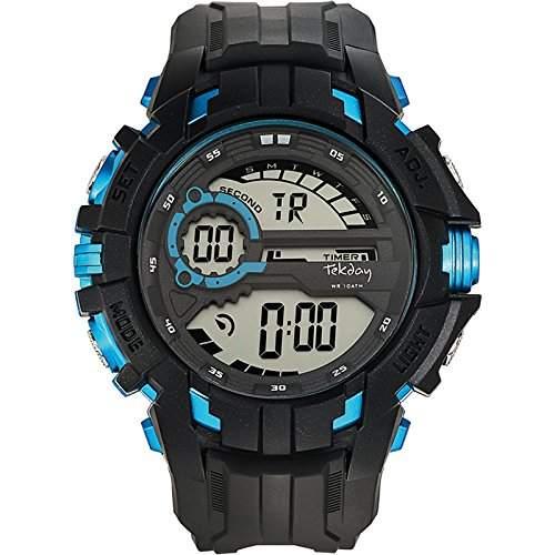 Tekday Herren-Armbanduhr 655862 Digital Quarz Schwarz 655862