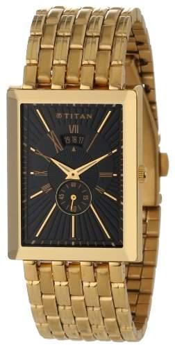 Titan Herren 1523YM03 Regalia Date Function Armbanduhr
