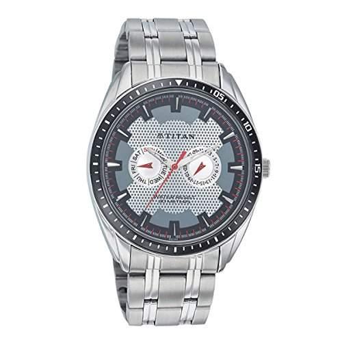 Titan Herren VERSEHEN Analog Casual Quartz Reloj 1582KM01