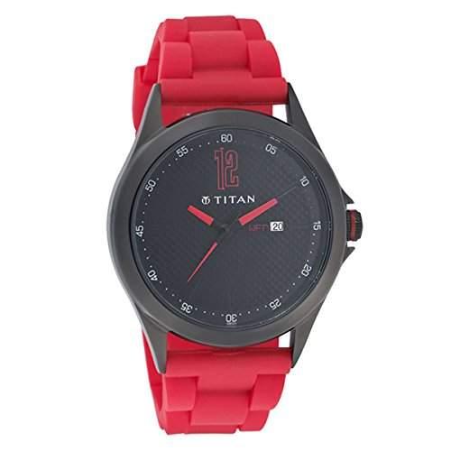 Titan Herren Analog Casual Quartz Reloj 9323NP01