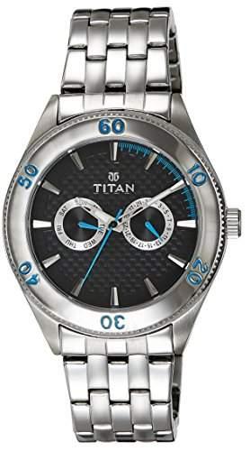 Titan Herren Analog Casual Quartz Reloj 9324SM08