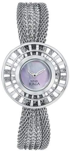 Titan Damen Analog Casual Quartz Reloj 9931SM01